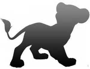 Lion King Characters Silhouettes - Bing Images