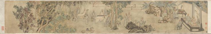 The Literary Gathering at a Yangzhou Garden