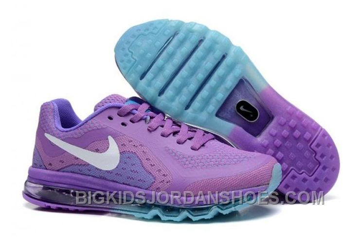 Online Nike Air Max 2014 Kids Shoes For Sale Purple