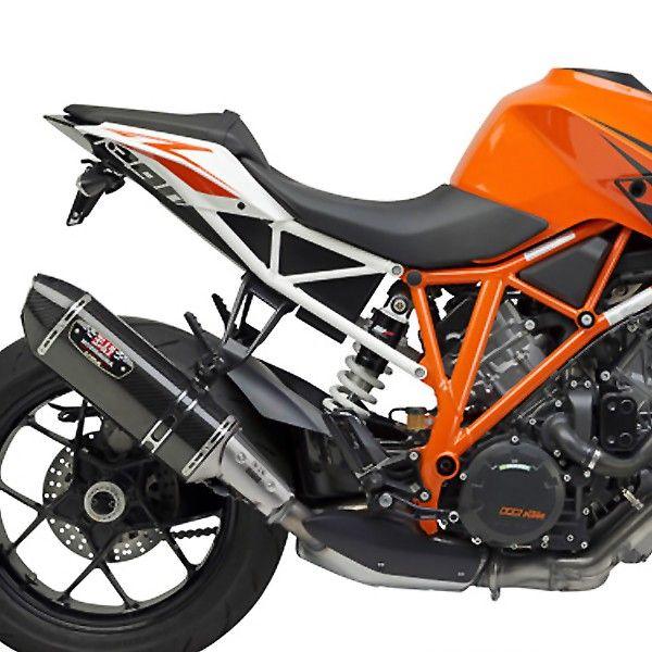 Yoshimura KTM 1290 Super Duke Carbon Fiber R-77 Slip-On Exhaust System KTM Part Number: 196093
