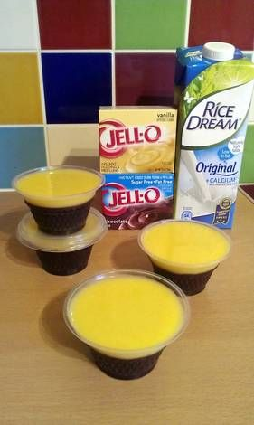 Vickys Alternative Milk Instructions for Jello Instant Pudding, Gluten, Dairy, Egg