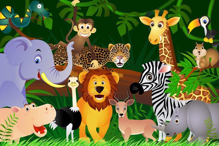 jungle-animals-children-plain-1.jpg (1650×1100)