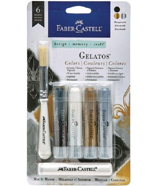 Faber Castell Gelatos - Pigment Sticks - Masquerade 4 st.€16,95