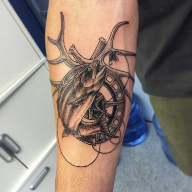 26 Deer Tattoos: Best 25+ Deer Hunting Tattoos Ideas On Pinterest