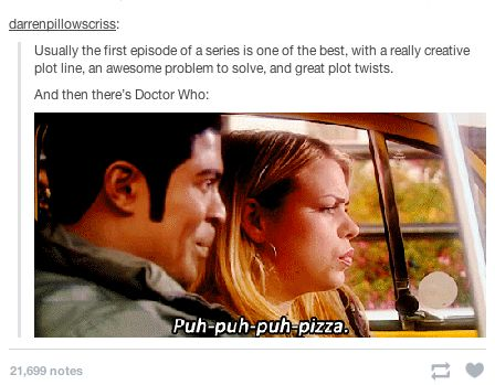 "When they pointed out the complexity of the pilot. | 21 Tumblr Posts That Prove ""Doctor Who"" Has The Best Fans"