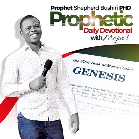 """Daily Devotional with Prophet Shepherd Bushiri The favor of the Lord by Prophet Shepherd Bushiri Scripture Reference: Psalm 90:17 """"Let the favor of the Lord"""