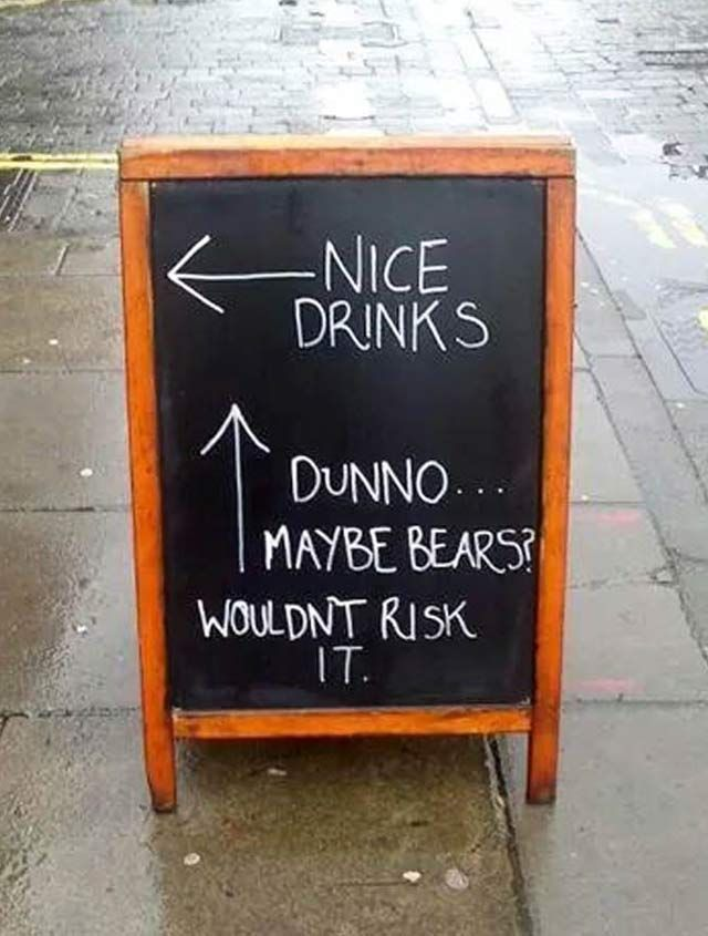 26 Funny Sidewalk Signs That'll Restore Your Faith in Hilarity -