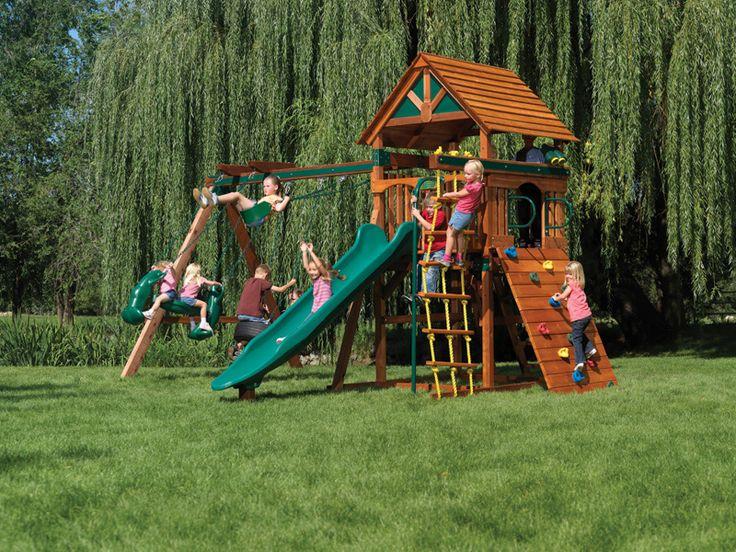 75 best Backyard Play Ideas images on Pinterest Backyard - home playground ideas