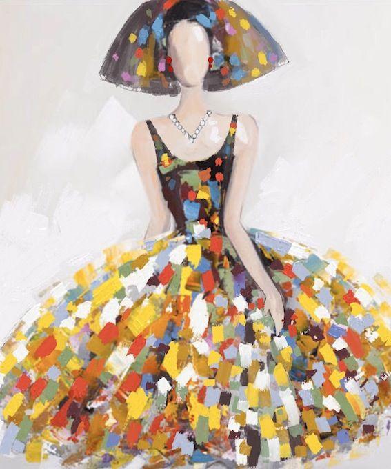 Las 25 mejores ideas sobre retrato abstracto en pinterest - Cuadro meninas moderno ...