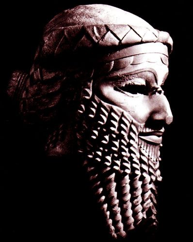 Head Of An Akkadian Ruler 17 Best images about M...
