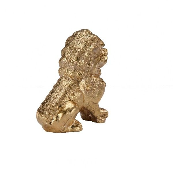Foo Pair Of Gold Leaf Foo Dog Book Ends Unique Home Decoraccessories Onlinehome Furnishings