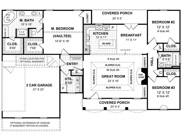 60 best images about ranch floor plans that i love on Pinterest