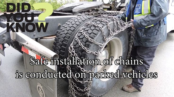 Video: Extreme Driving Practical Course - Since October 1, commercial drivers must carry tire chains.   Before you're in the snow covered mountain routes, gain practical experience installing chains with our Extreme Driving Conditions Course. ️️ #shiftintowinter #truckerlife #learnwithvalley