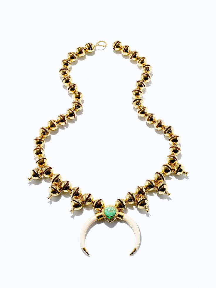 Necklace, Aurelie Bidermann. Click through to see more.