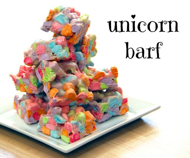 How To: Make Your Own Unicorn Puke Dessert Treats
