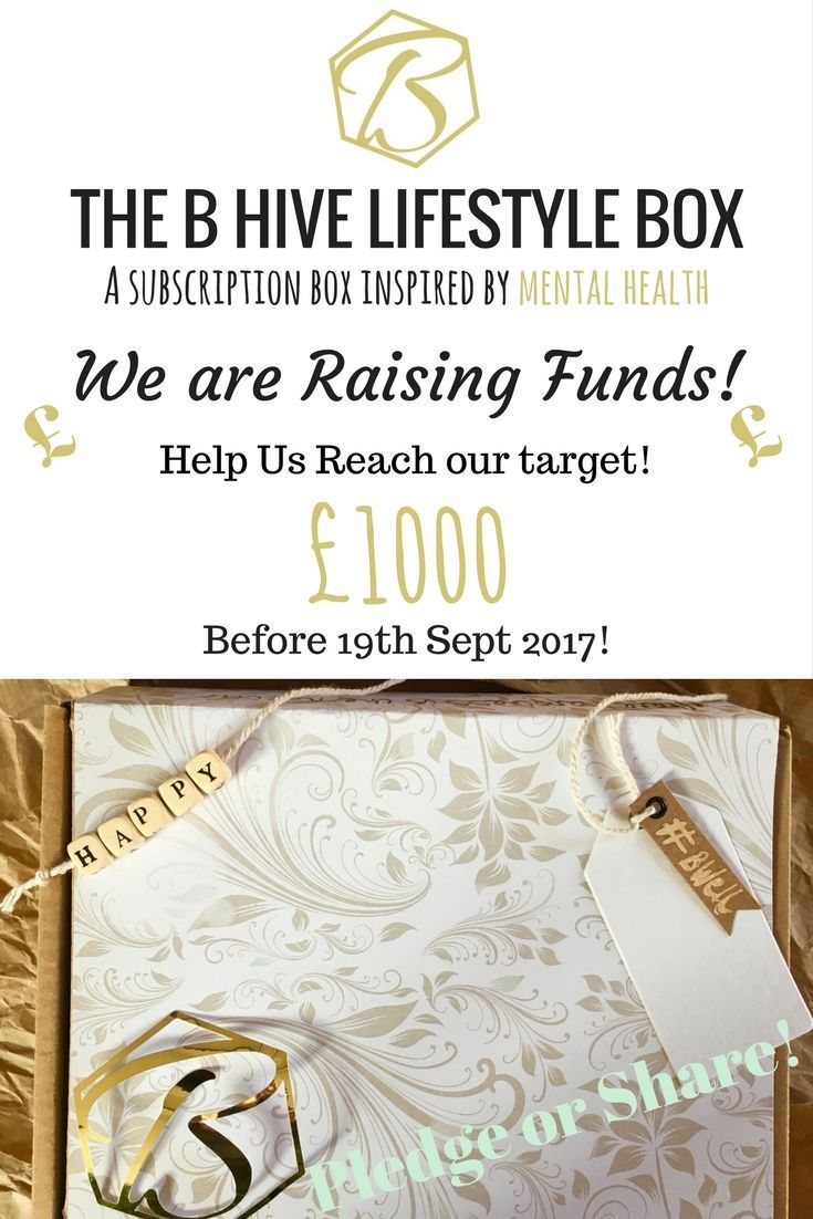 Please Help raise funds for this mental health subscription box and in turn help spread positivity through peoples letterbox's!