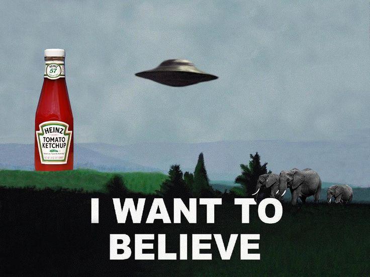 Uwierz w ketchup
