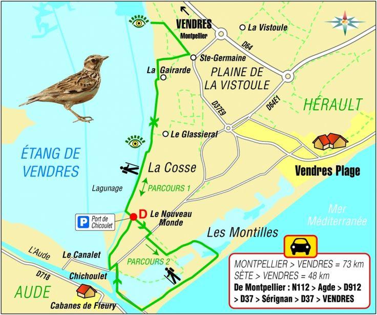 A Vendres, à la frontière de l'Aude, un parcours unique entre terre et mer, entre eau douce et eau salée.12 kilomètres 3 heures. Depuis le parking du port du Chichoulet, à Vendres,...