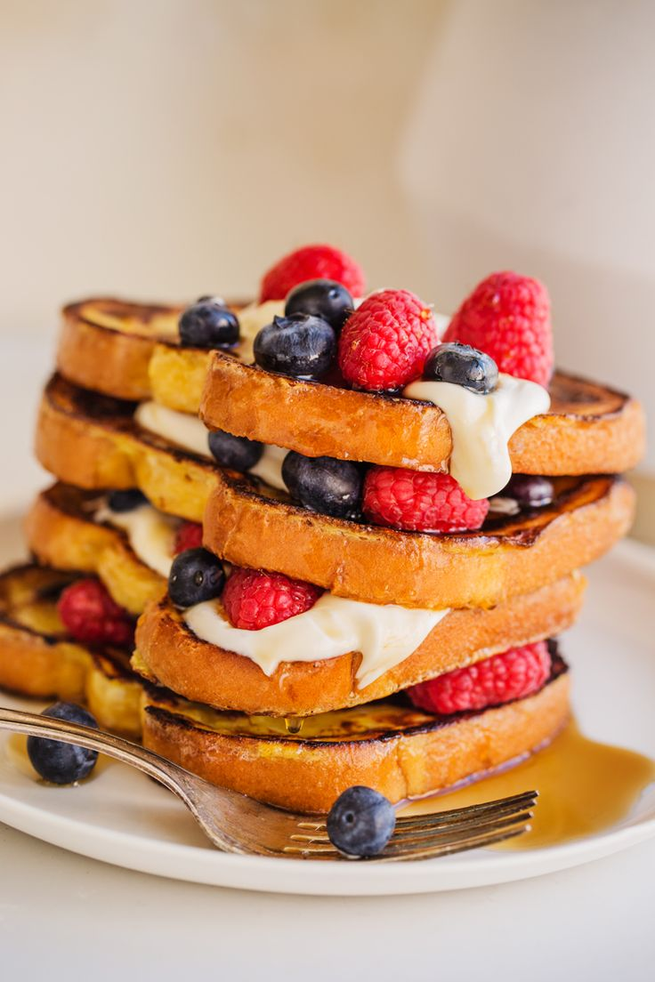 Layered high with fresh fruit, Vermont maple syrup and loads of tangy ...