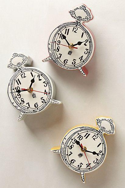 Tick - Tock clock                                         Anthropologie