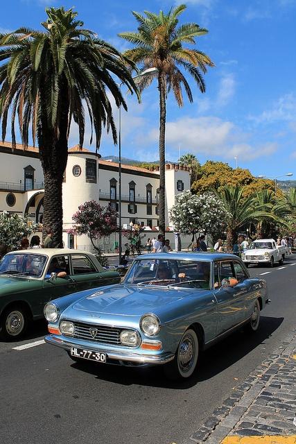 Peugeot 404 Coupé Pininfarina - Auto Parade Funchal 2012