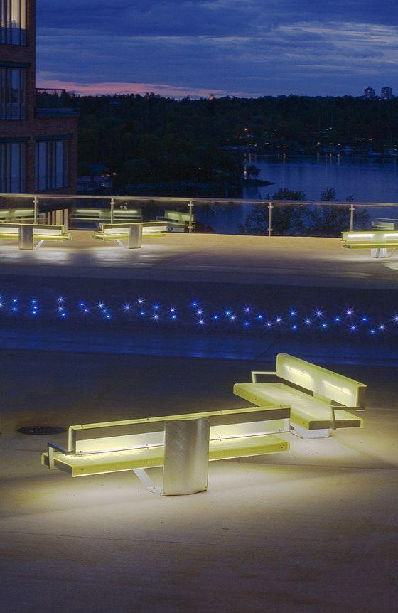 honkonen, light, urban space