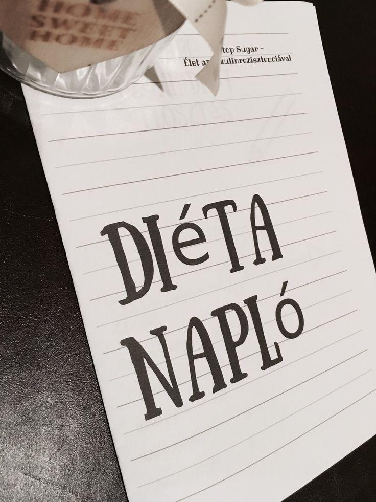 Pár napja barátnőm a papír-írószerben felfedezte a határidőnaplók között többek között az Edzés naplót és a Diéta naplót. Utóbbit rögtön mutogatta, hogy ez nekem jó lehet. Elég klassz dologn