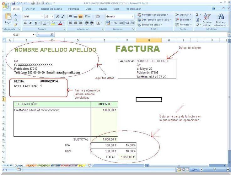 Programas de facturación #Excel http://blgs.co/ADRDO8