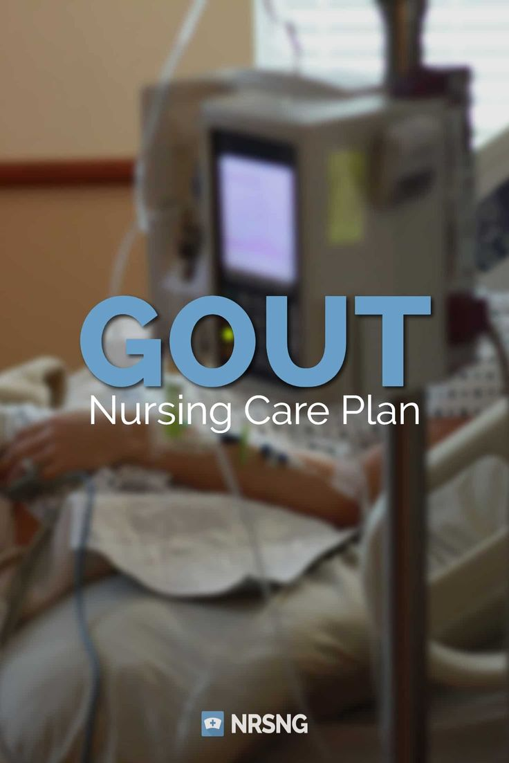 Care Plan for Gout / Gouty Arthritis Nursing care plan