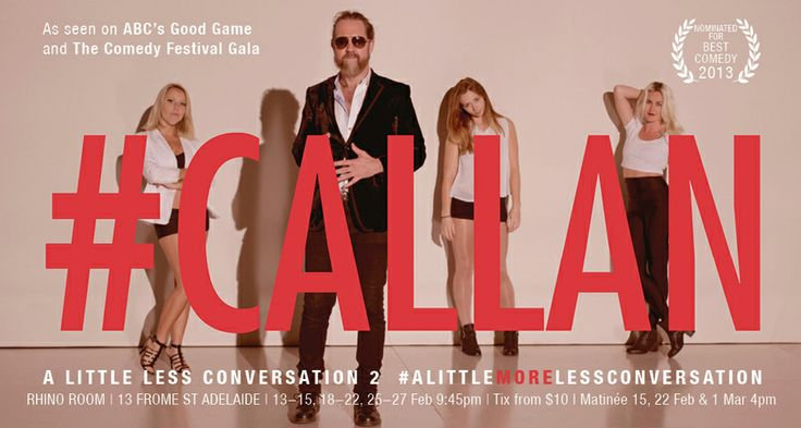 Dave Callan @ Fringe - only a couple more shows, get in quick #adlfringe #callan #adelaide