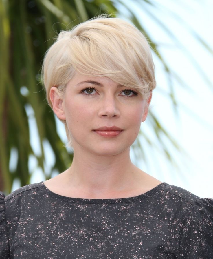 Michelle Williams short and sweet hairstyle