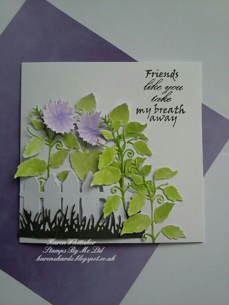 Tall Flowers and Old Fence die sets from Stamps By Me  #stampsbyme #dtsample #tallflowers #oldfence #die #flowers #kuretakezig #stamping #cards #craft #creative #ilovetocraft #creativity #karenzkardz