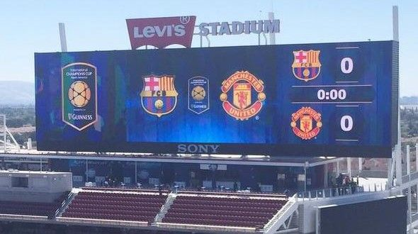 Confirmed Manchester United vs Barcelona team news