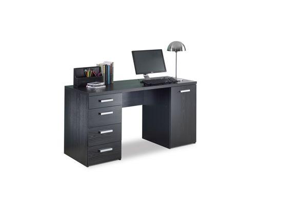 Scandinavian Designs Youth Study Desk Black Oliver S