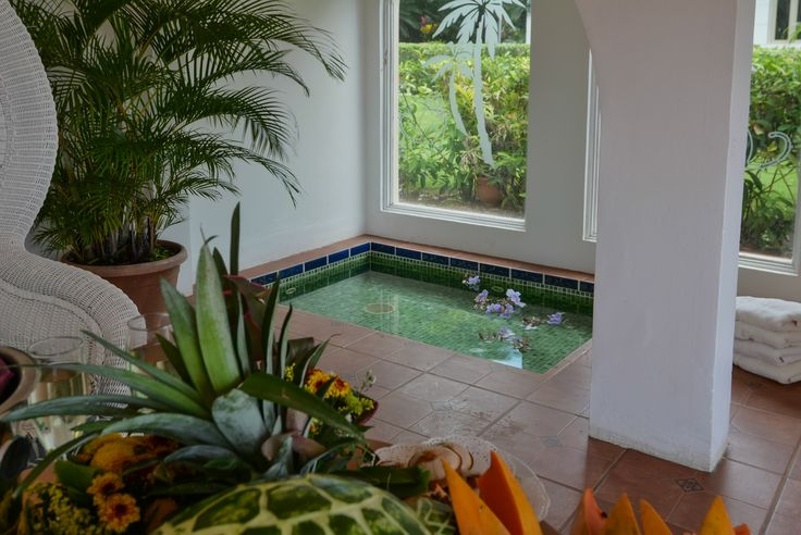Outdoors cold jacuzzi.  http://costaricamilliondollarhomes.com/Casa-One-Kind-in-CR/index.html