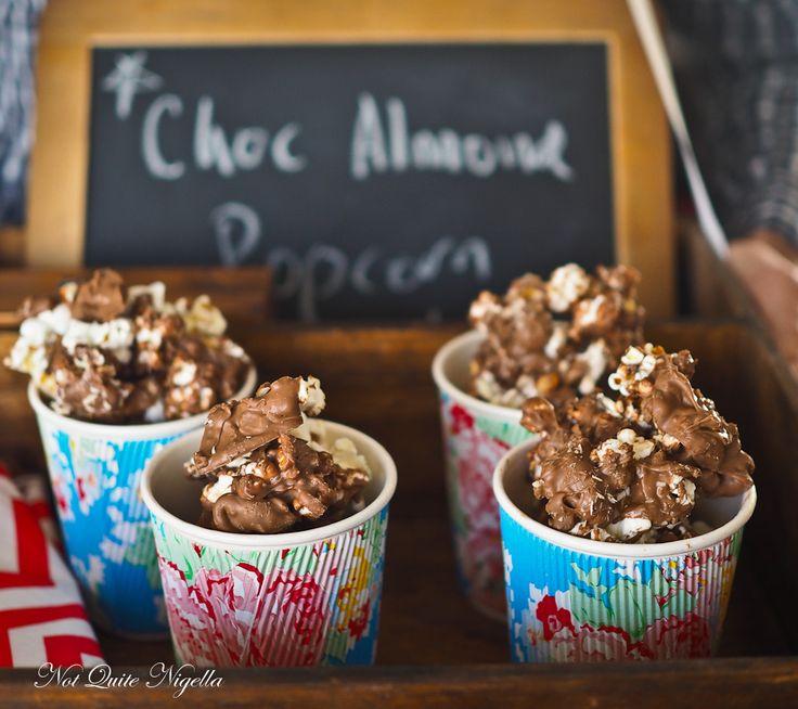 mandel popcorn almond popcorn popcorn recipes chocolate almond ...