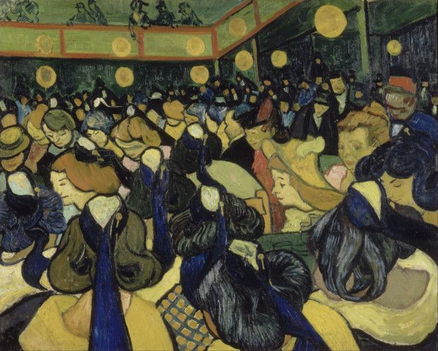 Vincent van Gogh, The Dance Hall in Arles, 1888, Musée d'Orsay