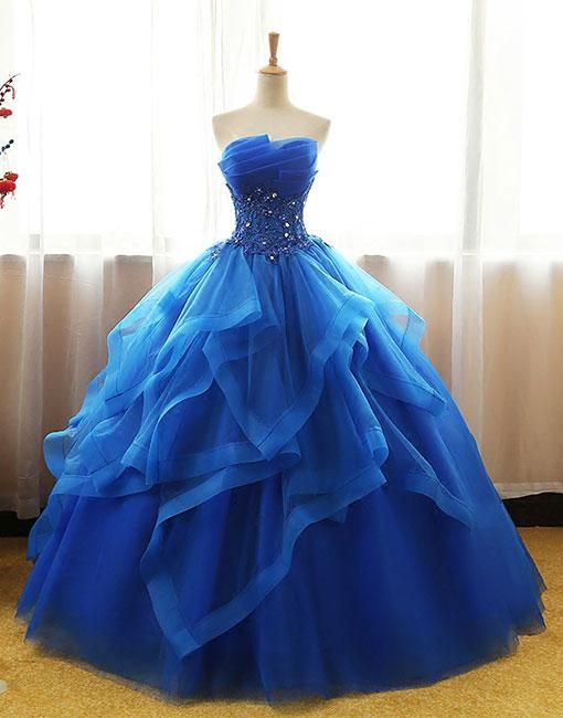 Quinceanera Dresses Vestidos de 15 anos Aqua Stunning Ball Gowns Beaded Sweetheart Sweet 16 Dress for party dress