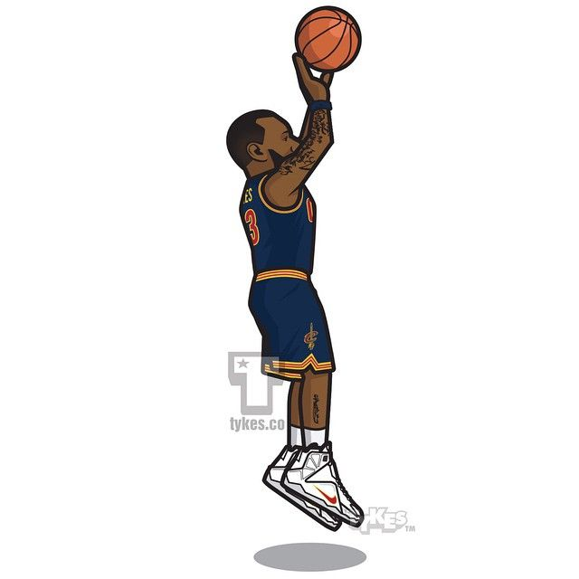 "LeBron James Cleveland Cavaliers ""Buzzer-Beater"" Tyke. Cavs coach David Blatt drew up a last second inbounds play for Game 4 of the Eastern Conference SemiFinals against the Chicago Bulls, however LeBron called his own play entitled, ""Give me the ball and get out of the way."" With only 1.5 remaining in regulation, LBJ raced to the corner to receive the inbounding pass and proceeded to drain a jumper as time expired, tying the series at two games a piece.  #Clutch #LeBronJames #Cavs #NBA…"