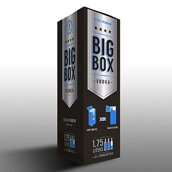Bag-in-a-box ultra-premium vodka debuts in US