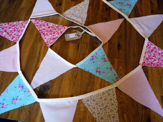 Gorgeous Bunting  Various Patterns  2.5 Metres  by iAmazingGrace, £3.99