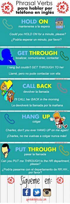 hablar por teléfono en inglés