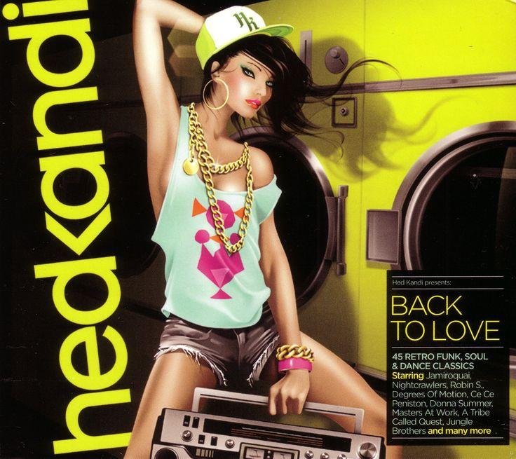 2013 Hed Kandi: Back To Love 2013 [Hed Kandi HEDK127] illustration by Jasper Goodall #albumcover #fashion