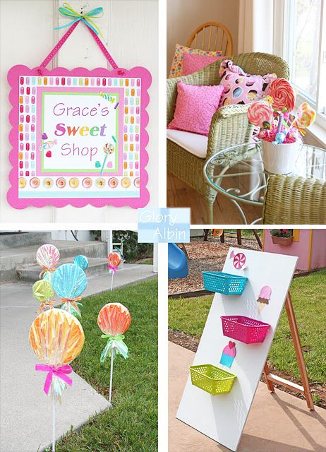 Candy Party Decor