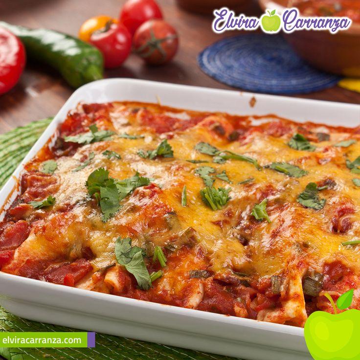 Deliciosa receta de Enchiladas Rojas !Prepárala, te encantará¡