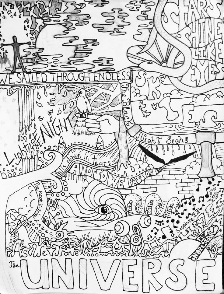 Coloring pages Coloring and Trippy
