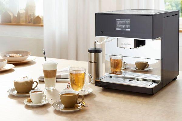 Miele vrijstaande koffieautomaat CM7 voor koffie en theeliefhebbers #koffie
