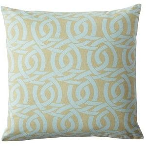 Serena & Lily Highland Knot Pillow Cover – Ice