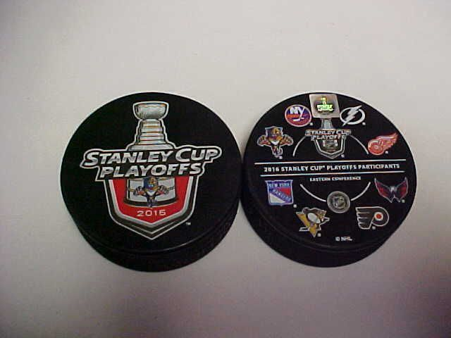 2016 NHL Florida Panthers Stanley Cup Playoffs Hockey Two Puck Souvenir Pack #SherWoodInGlasCo #FloridaPanthers