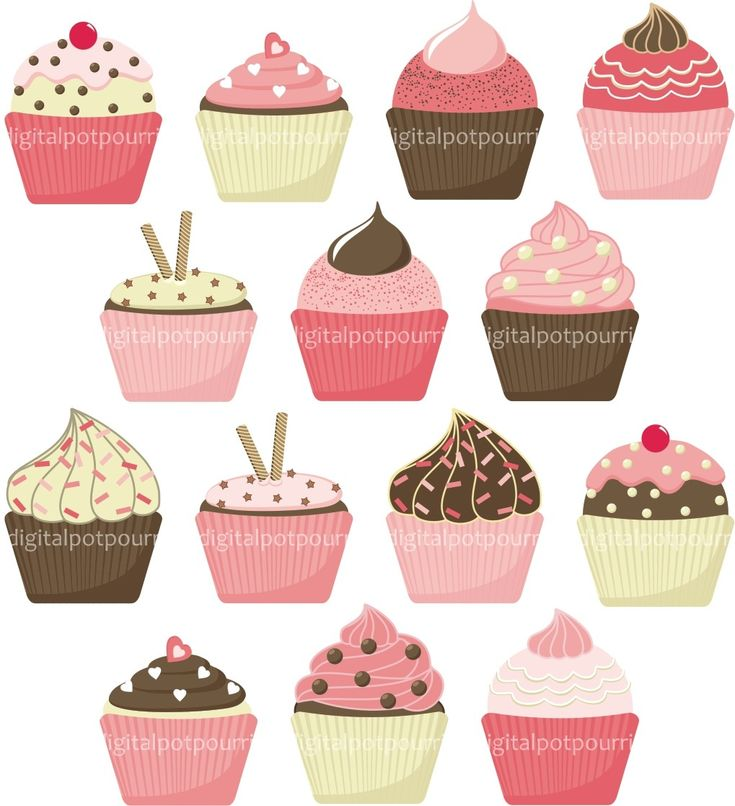 cupcake backgrounds Vintage Cupcake Clipart School ...